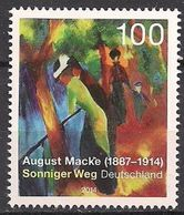 2014Germany3103Artist / August Macke - Unused Stamps