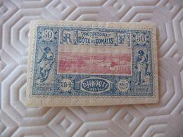 TIMBRE   COTE  DES  SOMALIS      N  15       COTE  37,00  EUROS  NEUF  TRACE  CHARNIÈRE - Côte Française Des Somalis (1894-1967)