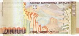 ARMENIA P. 58 20000 D 2012 UNC - Arménie
