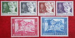 De Blinde & De Lamme 1954 OBP 955-960 (Mi 1004-1009) POSTFRIS/MNH ** BELGIE BELGIUM - Unused Stamps
