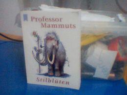 Professor Mammuts Stilbluten - Livres, BD, Revues