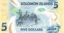 SOLOMON ISLANDS P. NEW 5 D 2019 UNC - Solomon Islands