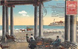 Habana - Malecon Y Templete - Cuba