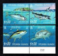 Pitcairn Islands 2007 Ocean Fish Four MNH - Briefmarken