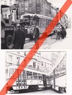 2 FOTO'S - TRAM - TRAMWAY - ONGEVALLEN IN ANTWERPEN? - Foto