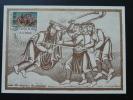 Carte Maximum Card Medieval Europa 1983 Luxembourg Ref 70497 - Cartes Maximum