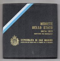 San Marino - 1973 -Serie Divisionale (7 Monete + 500 Argento) - Con Custodia E Garanzia - (FDC22640) - Saint-Marin