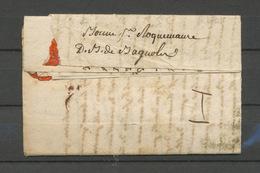 1793 Lettre Avec Déboursé Manuscrit Deb. De Bagnols. GARD. Superbe P5195 - 1801-1848: Precursors XIX