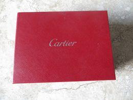 Boite Coffret En Carton Dur Etui Cartier - Boîtes