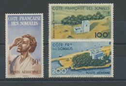 COTE DES SOMALIS PA Du N°20 à 22 NEUFS LUXE **COTE 26,75€ T1727 - Côte Française Des Somalis (1894-1967)