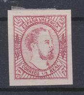 1874 CORREO CARLISTA VALENCIA TIPO I NUEVO*. MUY BONITO - Carlistes