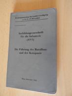 "Taschenbuch ""Ausbildungsvorschrift F.d.Infanterie Wien 1962 - Politie En Leger"