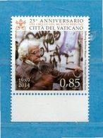 (Ni) Vaticano ** - 2014 - CADUTA Del MURO Di BERLINO. MNH - Vatican