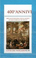 (Ni) Vaticano ** - 2014 - San CAMILO De LELLIS. MNH - Vatican