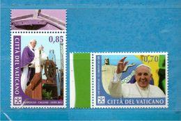 (Ni) Vaticano ** - 2014 -  VIAGGI Nel MONDO Di PAPA FRANCESCO. MNH - Vatican