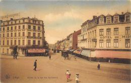 Liège - Entrée De La Rue Des Guillemins - Nels Couleur Série Liège N° 106 - Liege