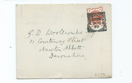 Great Britain Victoria  Postcard With  Birmingham 67 Squared Circle 1899 Jubilee Stamp - 1840-1901 (Victoria)