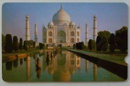 INDIA - GPT - Taj Mahal - Plessey - 2EXHC - Black Reverse - Used - Inde