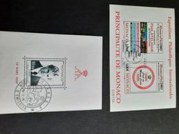Bloc Monaco - Stamps