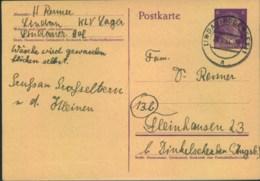 "1944, Postkarte Aus Dem ""KLV Lager Lindauer Hof"" Ab Lindau Nach Augsburg - Lettres"