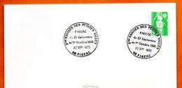 46 FIGEAC   3° ASSISES DES PETITES VILLES  1995 Lettre Entière  N° KL 180 - Marcofilie (Brieven)