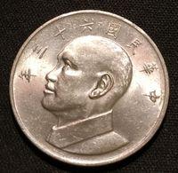CHINE - CHINA - TAIWAN - 5 YUAN ( DOLLAR ) 1974  - KM 548 -  Chiang Kai-Shek - Taiwan