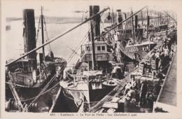 Bv - Cpa LORIENT - Les Chalutiers à Quai - Lorient
