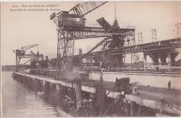Bv - Cpa Port De Pêche De LORIENT - Appareils De Manutention Du Charbon - Lorient