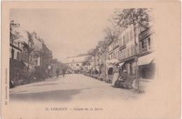 Bv - Cpa Précurseur LORIENT - Cours De La Bôve (Edition Laussedat, Châteaudun) - Lorient