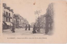 Bv - Cpa Précurseur LORIENT - Cours De La Bôve (vue Prise De La Place Bisson) (Edition Laussedat, Châteaudun) - Lorient