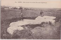 Bz - Cpa ARZON - Allée Couverte De Graniole (monument Mégalithique) - Arzon