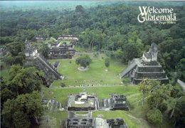 1 AK Guatemala * Der Große Platz Ist Der Zentrale Bereich In Tikal - Antike Stadt Der Maya - Seit 1979 UNESCO Welterbe - Guatemala