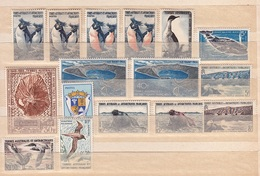 FRANCE Antarctique -  TAFF - Lot De 16 Timbres Neufs Avec Ou Sans Charnière - Französische Süd- Und Antarktisgebiete (TAAF)