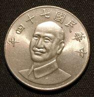 CHINE - CHINA - TAIWAN - 10 YUAN ( DOLLAR ) 1985  - KM 553 -  Chiang Kai-Shek - Taiwan