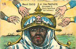 CARICATURE SATIRIQUE POLITIQUE Illustrateur ORENS (dessin Original)  Moulai Hafid - Orens
