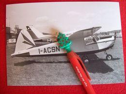 FOTOGRAFIA  AEREO MACCHI MB 308 Matricola I-ACSN - Aviazione