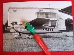 FOTOGRAFIA  AEREO MACCHI MB 308 Matricola I-MAKK - Aviazione