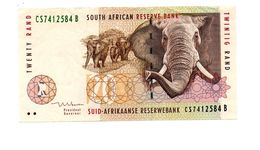 ZUID AFRIKA 20 RAND 1999 OLIFANTEN - Suráfrica