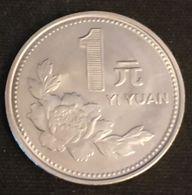 CHINE - CHINA - 1 YI YUAN 1997  - KM 337 - Tian'anmen - Chine