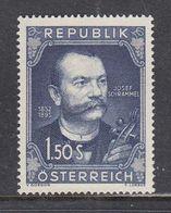Austria 1952 - Josef Schrammel, Mi-Nr. 970, MNH** - 1945-60 Neufs
