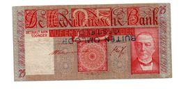 NEDERLAND 25 GULDEN 1931 MEES  - BUITEN OMLOOP GESTELD - [2] 1815-… : Kingdom Of The Netherlands