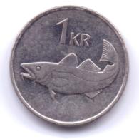 ICELAND 2006: 1 Krona, KM 27a - Islande