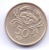 ICELAND 1987: 50 Kronur, KM 31 - Islande
