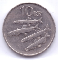 ICELAND 1987: 10 Kronur, KM 29 - Islande
