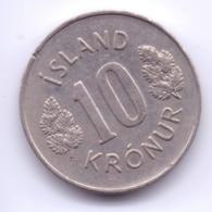ICELAND 1974: 10 Kronur, KM 15 - Islande