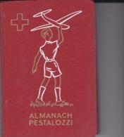 Almanach PESTALOZZI 1955 - Calendriers