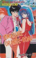 Télécarte Japon / 110-24639 - MANGA - WEEKLY JUMP - KIMAGURE ORANGE ROAD - ANIME Japan Phonecard - 12086 - BD