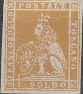 """PIA  -  TOSCANA : 1851-52 - """"Marzocco"""" - Leone Mediceo  -  (SAS  2) - Tuscany"""