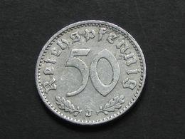 RARE !!  50 Reichspfennig 1940 J  - Germany- Allemagne 3 Eme Reich   **** EN ACHAT IMMEDIAT **** - [ 4] 1933-1945 : Tercer Reich
