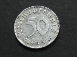 RARE !!  50 Reichspfennig 1941 B  - Germany- Allemagne 3 Eme Reich   **** EN ACHAT IMMEDIAT **** - [ 4] 1933-1945 : Tercer Reich